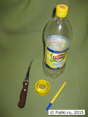 Как сделать поливалку из бутылки 975